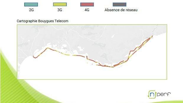 Bouygues Telecom meilleur réseau mobile en Méditerranée