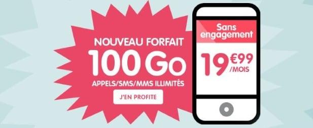 NRJ MObile : forfait 100 Go