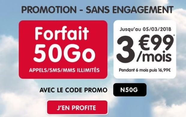Forfait NRJ Mobile en promo