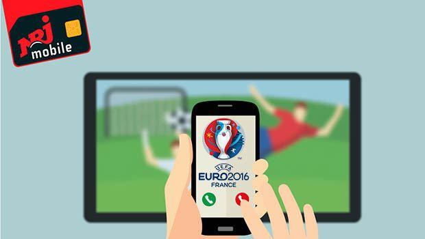 50 Go de data pour suivre l'Euro 2016