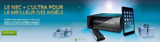 offre numericable power ipad noel 2013