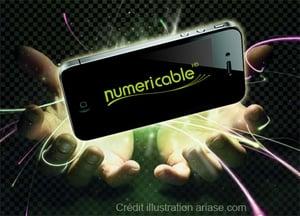 la box fibre de numericable liée à un forfait mobile