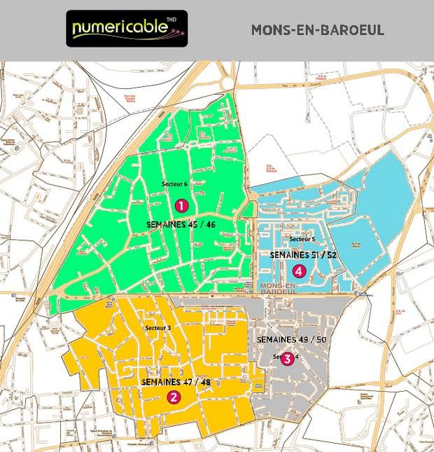 Déploiement Numericable à Mons-en-baroeul