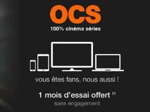 Le service OCS en streaming