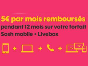 offre mobile + livebox