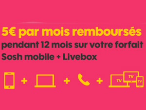 offre mobile + livebox