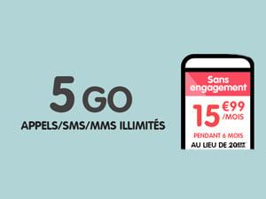woot 5go promo nrj mobile 4G