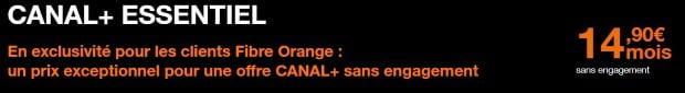 Canal+ pas cher chez Orange