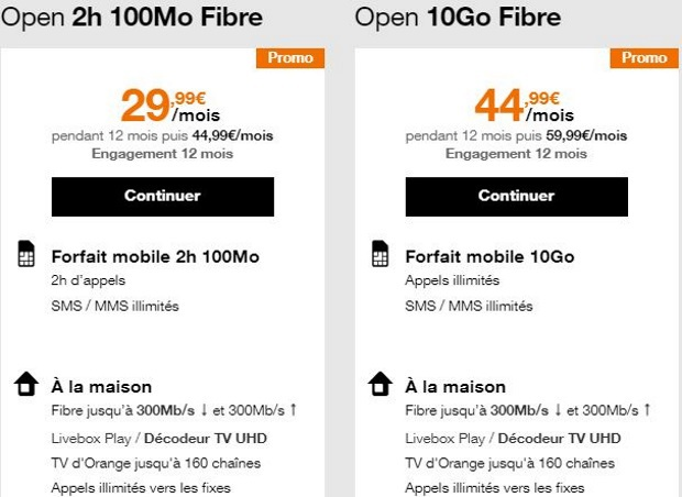 Internet + mobile : petit prix chez Orange