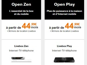 Orange Livebox + mobile