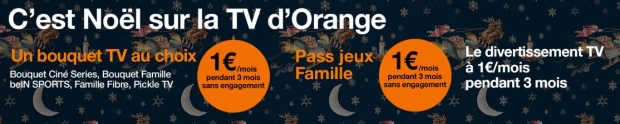 Orange box+mobile : OCS et BeIN Sports pas cher