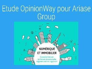 Sondage OpinionWay Ariase Group