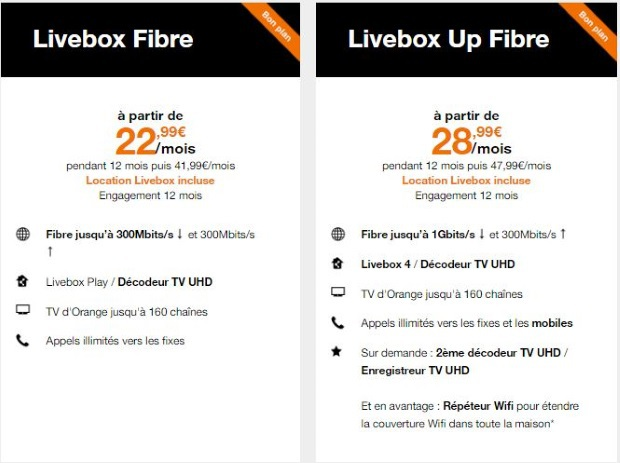 Promo LIvebox Orange