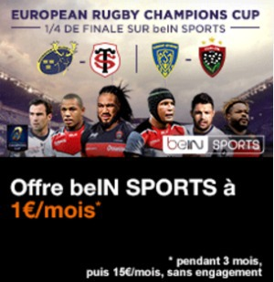 Promotion BeIN Sport avec la TV d'Orange