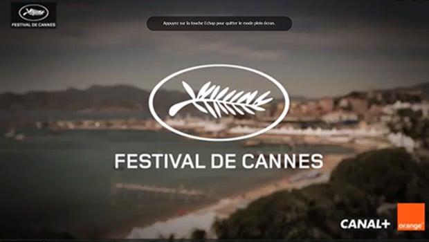 Orange et le Festival de Cannes : 15 ans de partenariats