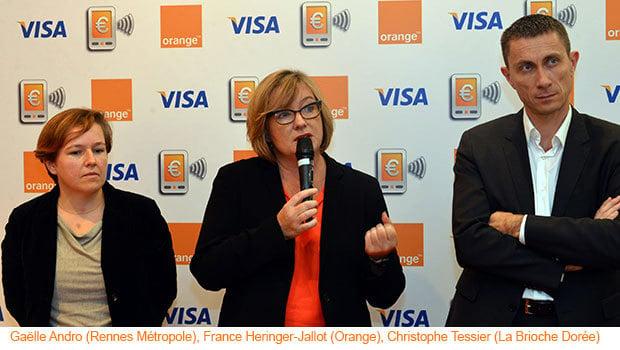 Orange Cash : lancement au Centre Commercial Alma de Rennes