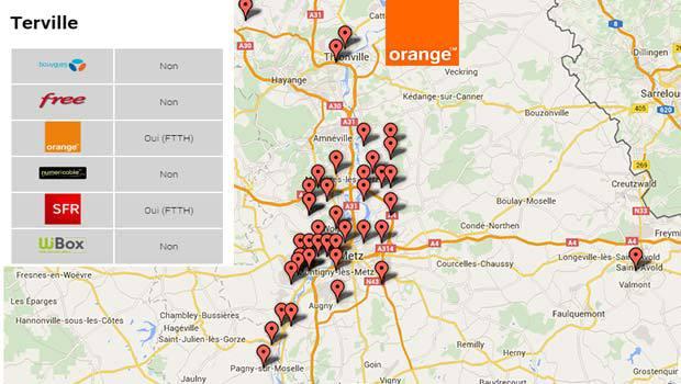 Orange délégataire pour Moselle Fibre