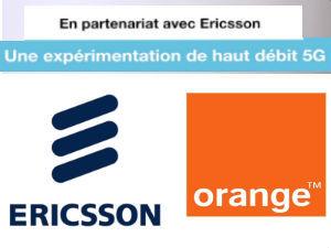 Ericsson et Orange partenaires de la future 5G