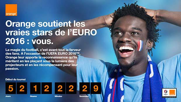 Orange partenaire technologique officiel de l'Euro 2016
