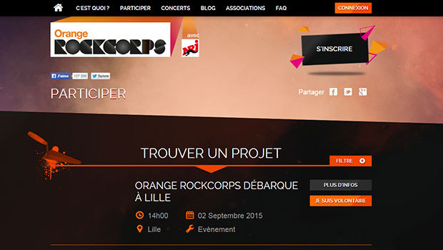 Rockcorps d'Orange