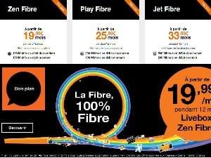 Les offres fibre Orange moins chères qu'en ADSL !