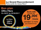 Orange : Bon plan fibre