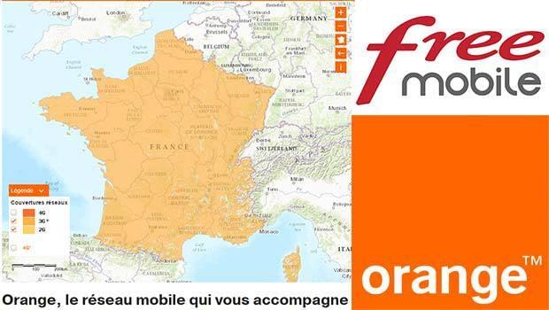 La fin de l'itinérance Free Mobile sur les réseaux 2G/3G d'Orange