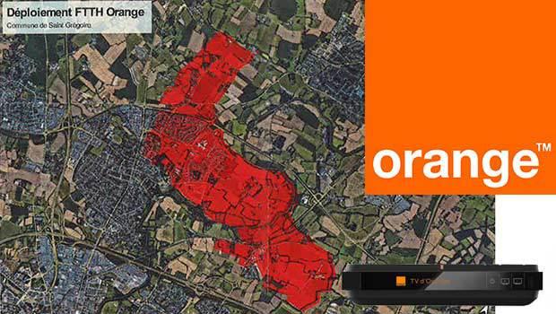 Saint-Grégoire commence à voir la fibre déployée par Orange