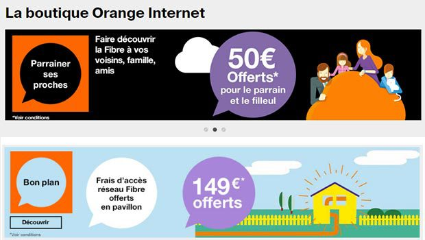 Orange promotions et bons plans
