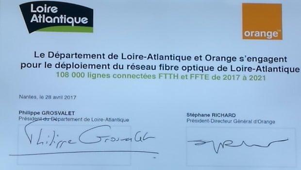 La fibre optique dans la Loire-Atlantique