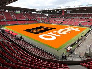 Orange ouvre la 4G et 4G+ dans le Roazhon Park de Rennes
