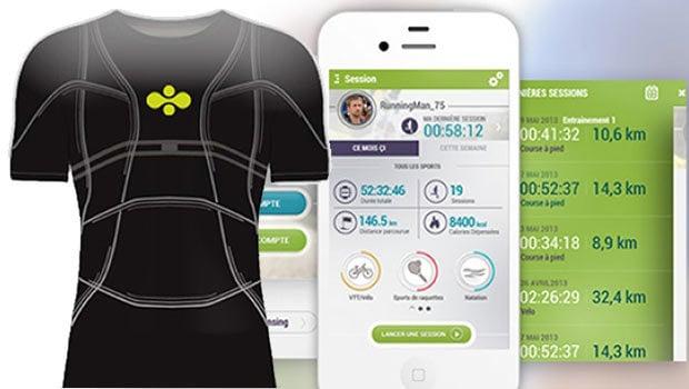 Un T-shirt connecté, le D-Shirt