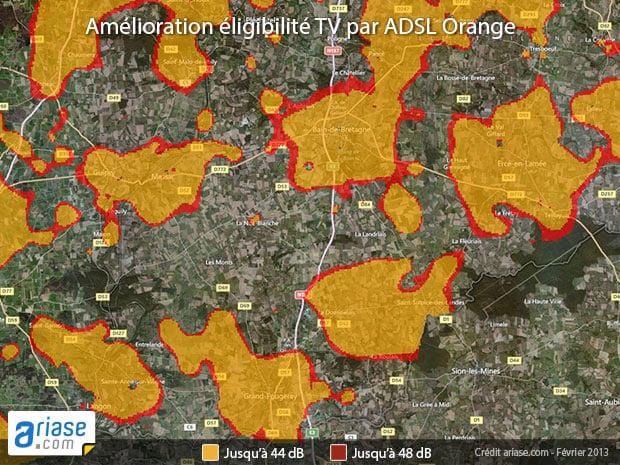 TV d'Orange dans un canton