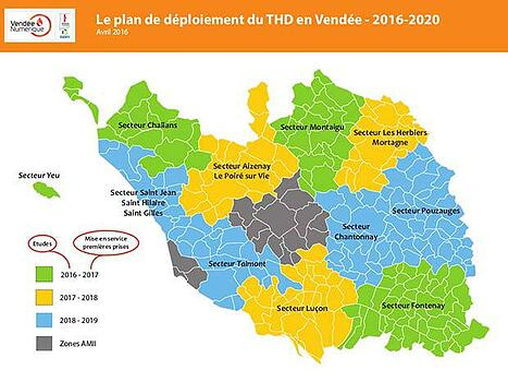 Le déploiement FTTH en Véndée