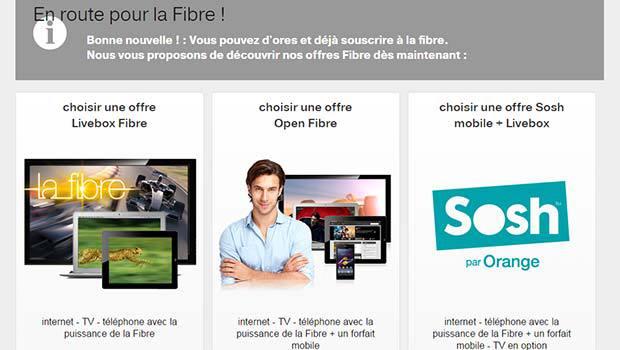 Les offres Orange fibre déjà à La Roche-sur-Yon