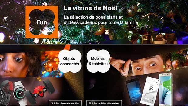La Vitrine de Noël d'Orange