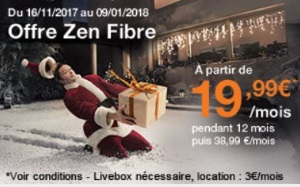 Orange : Livebox zen fibre en promotion