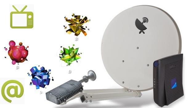 Les offres labellisées en technologie satellitaire Ozone s'appuient sur le service Tooway d'Eutelsat