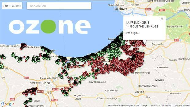 La box Videofutur et CineTime dans l'offre Ozone fibre'