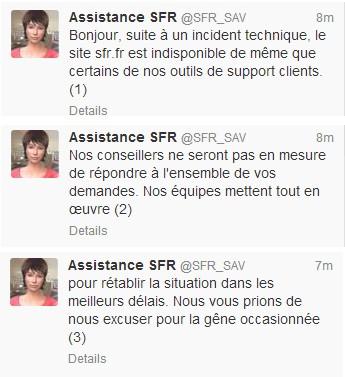Twitter SAV SFR