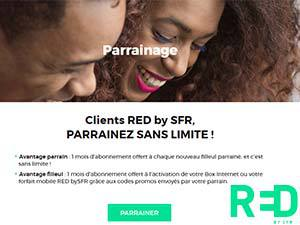 Parrainage RED by SFR mobile