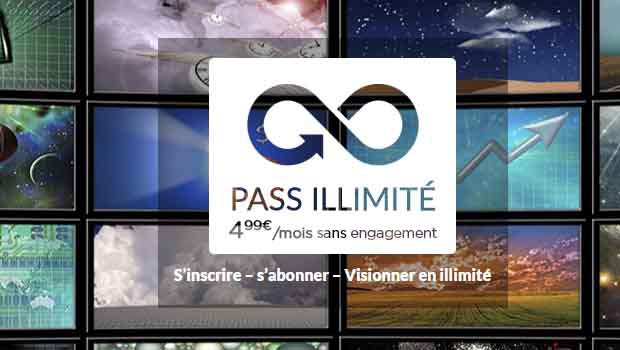 Pass illimité Vodéo à 4.99€