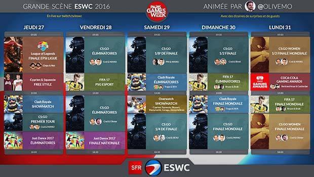 SFR Sport 3 et e-sport