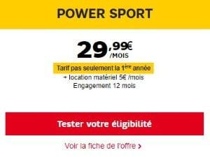 Bein Sports inclus à vie avec l'abonnement Internet SFR Power Sport