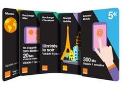 Orange : utiliser sa carte prépatée Europe comme en France