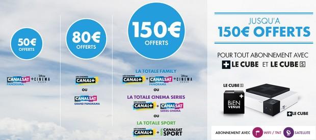 promotion Canal jusqu'au 15 mars 2016