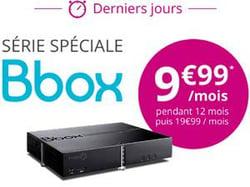 Bbox de Bouygues Telecom en promotion