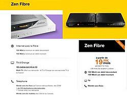 Livebox Zen Fibre d'Orange