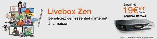Vente Flash Livebox jusqu'au 31 mars 2015