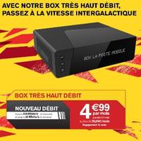 La Box THD TV Plus La poste Mobile